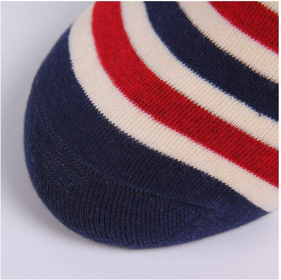 Color : 10 Pairs HYDKU New Mens British Wind Retro Boat Socks Casual Striped Mens Socks Trend Socks Autumn and Winter Sports Socks 10 Pairs