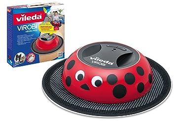 Vileda Virobi - Robot aspirador, color rojo: Amazon.es: Hogar