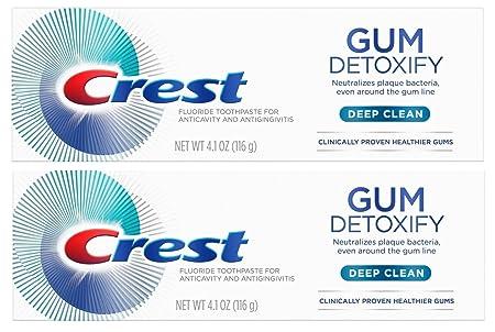 Review Crest Gum Detoxify Toothpaste,