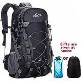 Netchain Zaino da Trekking Outdoor Donna e Uomo con Protezione Impermeabile per alpinismo arrampicata equitazione ad Alta Capacità borsa da viaggio,Multifunzione, 40 litri