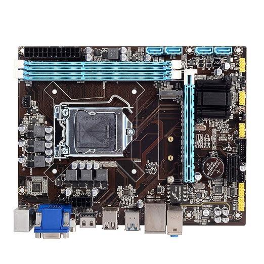 Dengofng Placa Madre de computadora de Escritorio H110 con ...