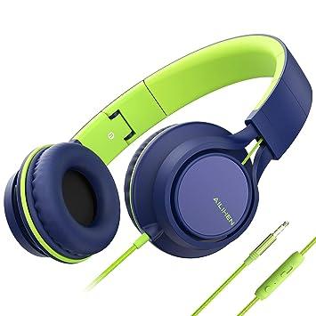 b3edf0409db AILIHEN C8 - Auriculares Ligeros con micrófono y Control de Volumen para  iPhone, iPad,