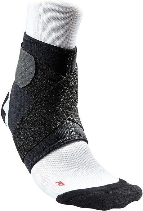 McDavid ankle support black//scarlet xl