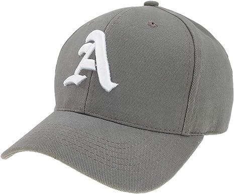 4sold - Gorra de béisbol unisex con letra A de estilo gótico A ...
