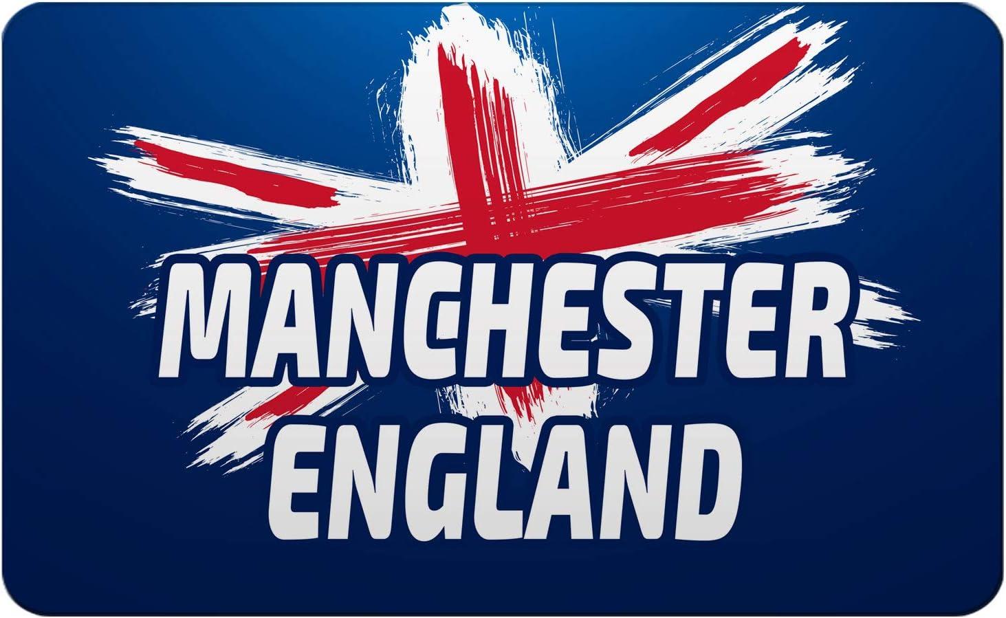 Makoroni - MANCHESTER ENGLAND British England UK Des#2 Refrigerator Wall Magnet 2.75x3.5 inc