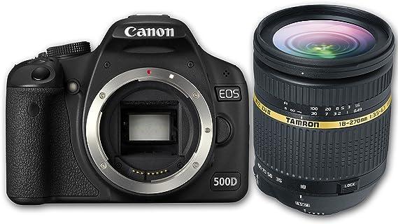 Canon Eos 500d Slr Digitalkamera Gehäuse Inkl Tamron Kamera