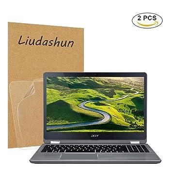 "Liudashun Protector de Pantalla HD Transparent para 15.6"" Acer Aspire R15 R5-571T 5R"