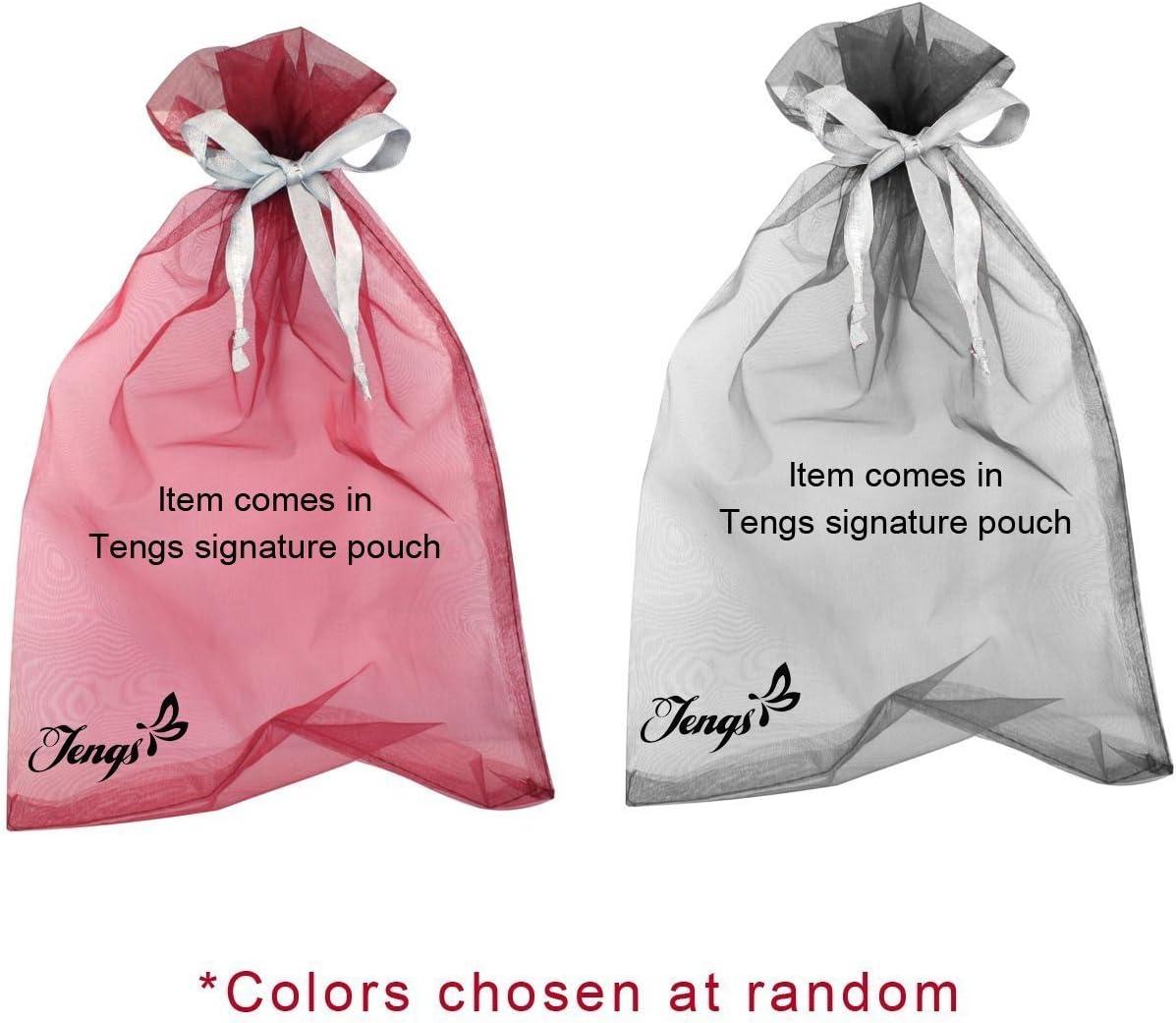 Tengs Gauzy Marilyn Monroe /& Boutique Designs Longue /Écharpe en soie m/élang/ée 25Wx62L blanc