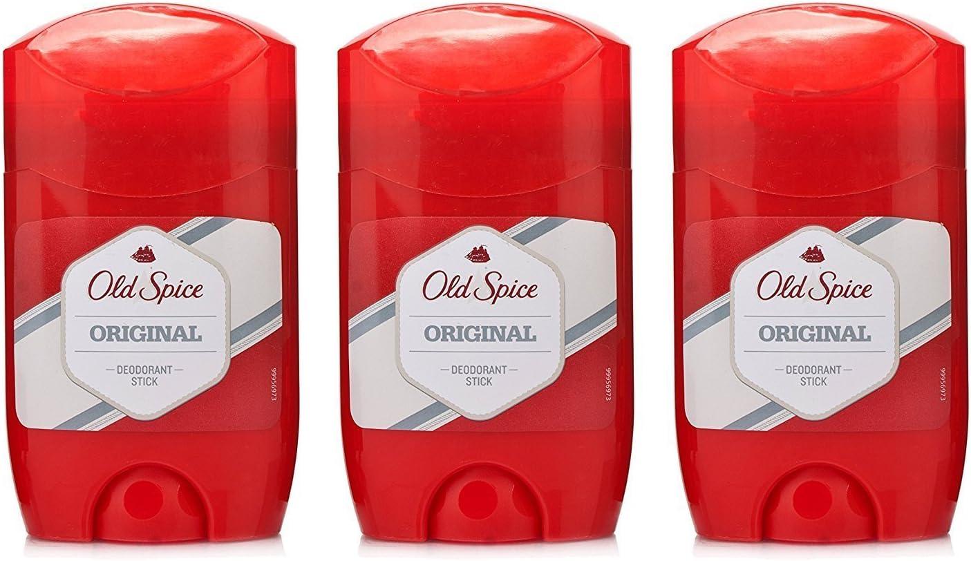 Old Spice Juego de 3 desodorantes en stick: Amazon.es: Belleza