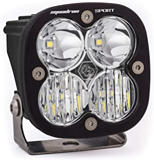 product image for Baja Designs Squadron Sport ATV UTV LED Light Wide Cornering Pattern Black 550005