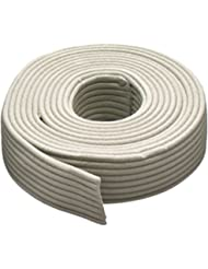 M-D Building Products 71548 Replaceable Cord Weatherstrip, 90 Feet, Gray