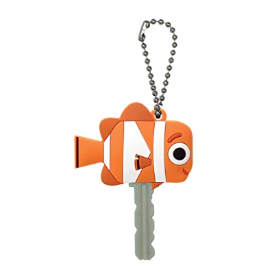 Disney Finding Dory Nemo Soft Touch PVC Key Holder: Toys & Games