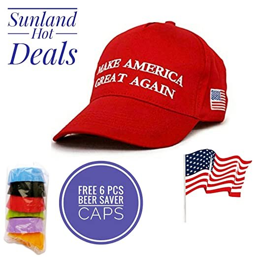 8dd2567f76f Image Unavailable. Image not available for. Color  Trump Make America Great  Again Cap ...
