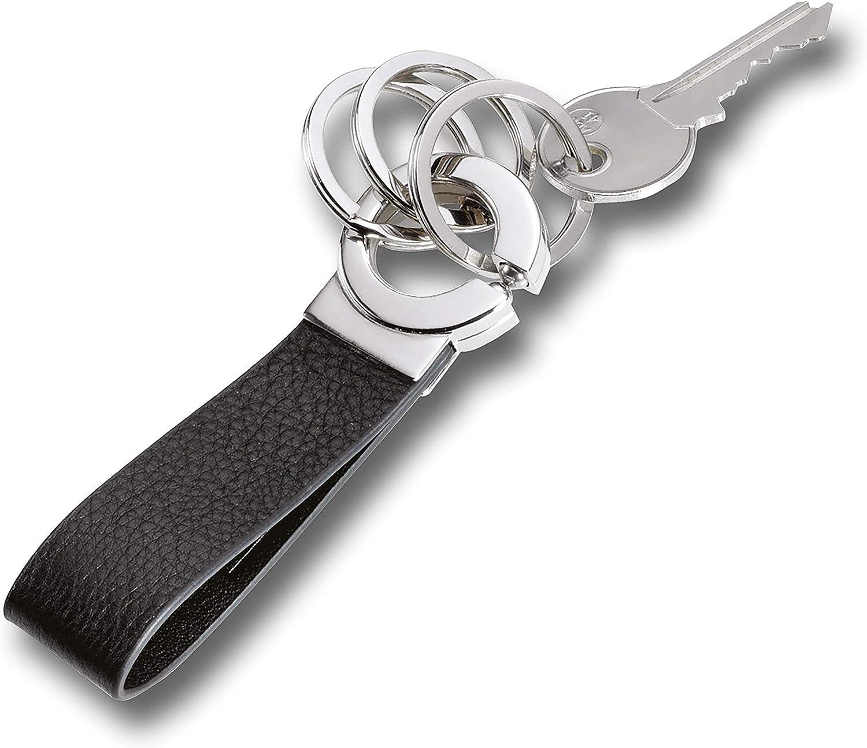 Jaguar LUXUARY chrome metal key ring keyring fob chain SLEEK TOP QUALITY NEW
