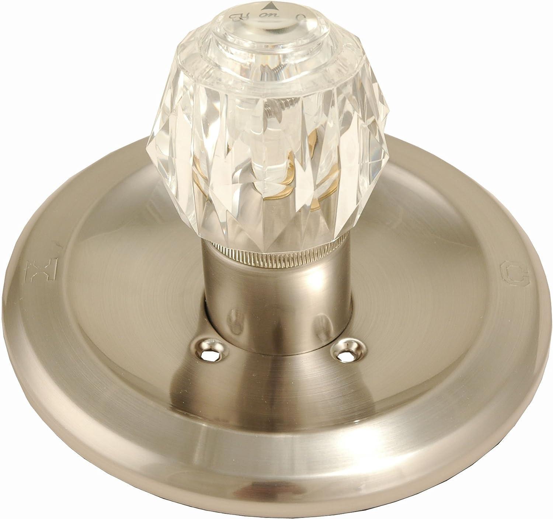 trim kit fit delta peerless shower faucet satin nickel finish by plumb usa