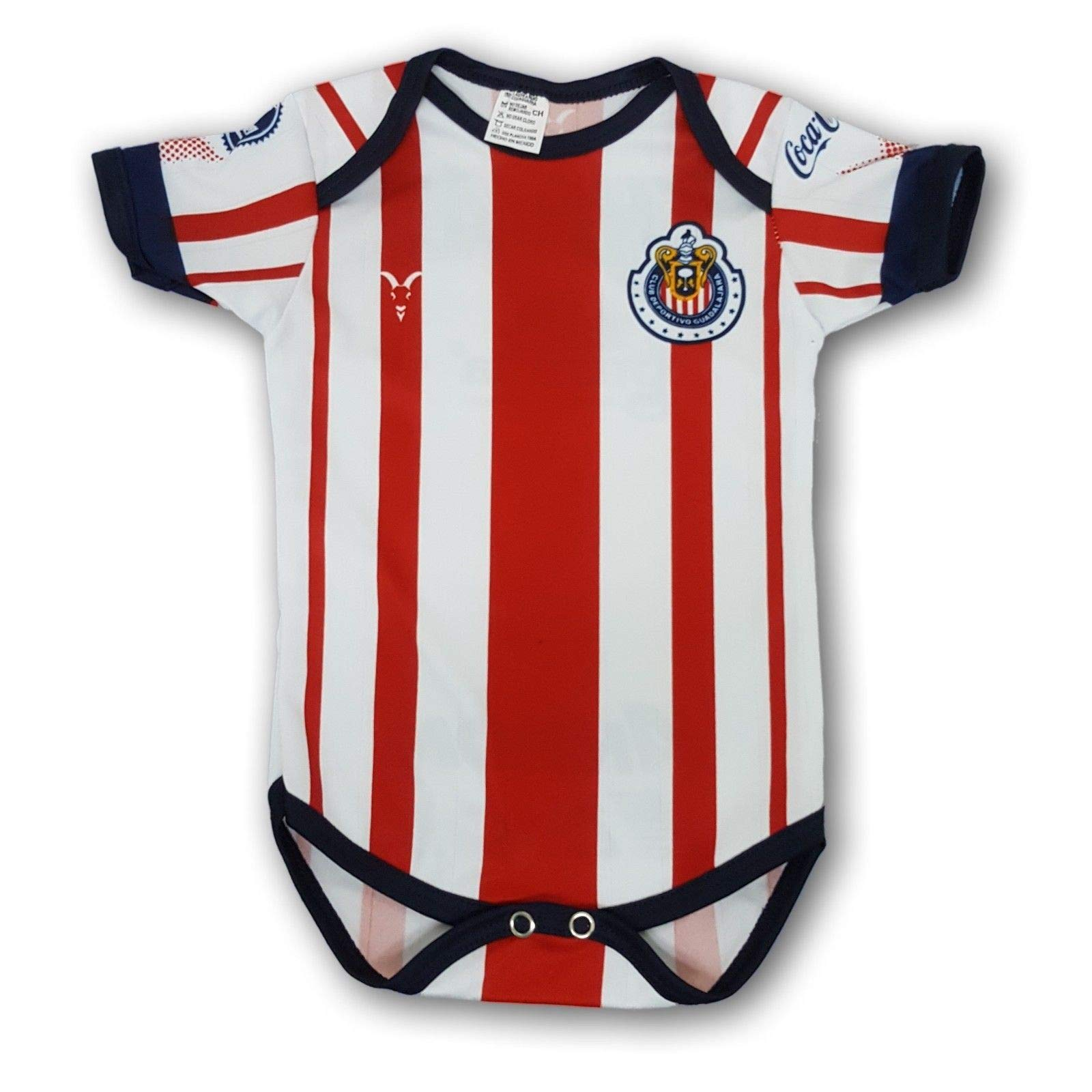 acb75079e Amazon.com   Club dDeportivo Guadalajara Chivas Newborn Jersey   Sports    Outdoors