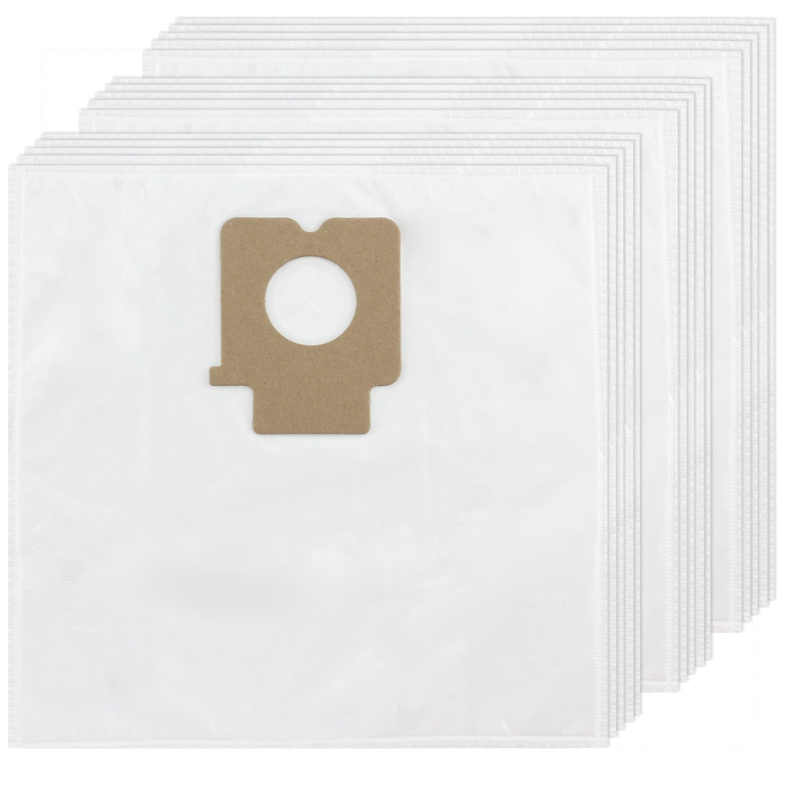 Spares2go Microfibre Cloth Bags For Panasonic Vacuum Cleaner (Pack of 15)
