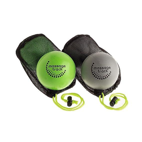 Deep Recovery sistema de la bola liberación miofascial (2 firme y 2 bolas muy firmes): Amazon.es: Salud y cuidado personal