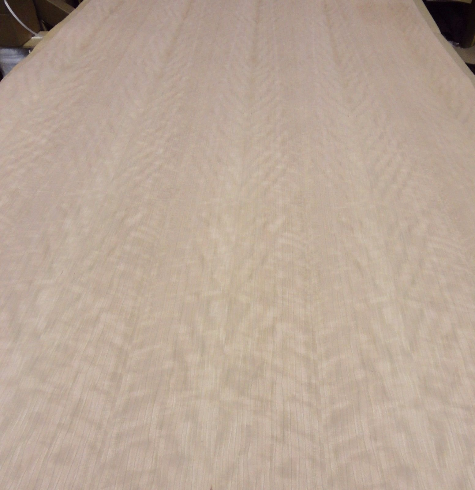 Figured Quilted Ropey Cherry wood veneer 48'' x 96'' on paper backer 1/40th'' ''AA+''