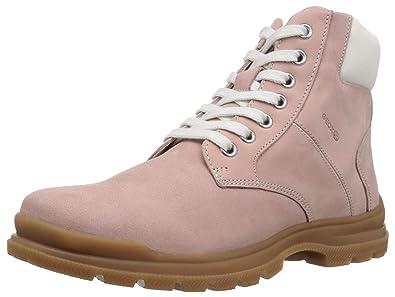 Geox Navado Girl 1 Insulated Work Boot Combat, Pink, 39