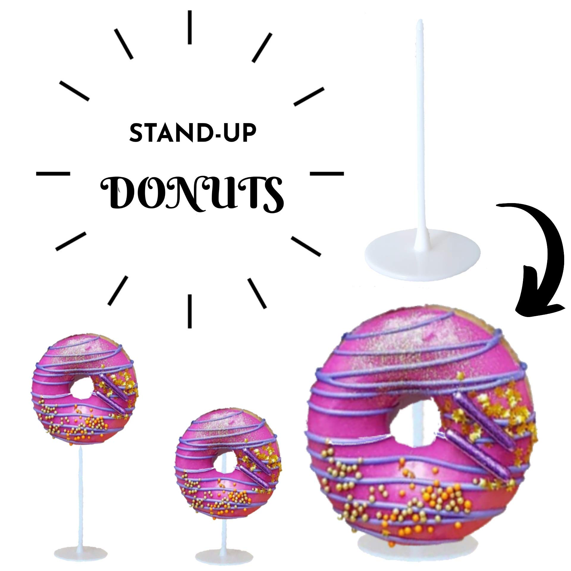 Stand-Up Donuts Pastry Tee 100ct by Pastry Tee