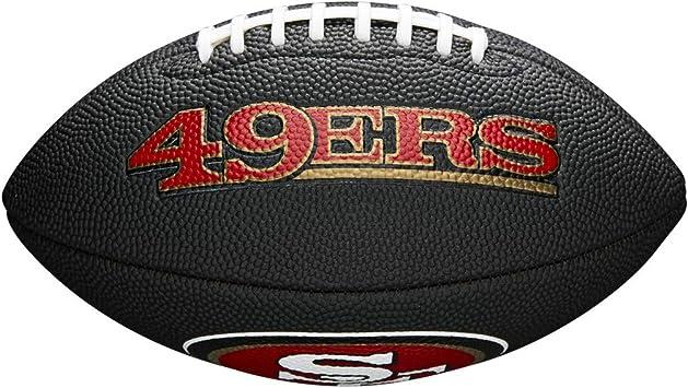 Wilson WTF1533BLXBSF Pelota de fútbol Americano Mini NFL ...