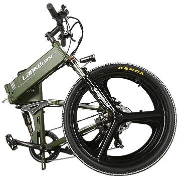 Lankeleisi XT750 – Bicicleta eléctrica con suspensión total – 26 pulgadas, 48 V, 7