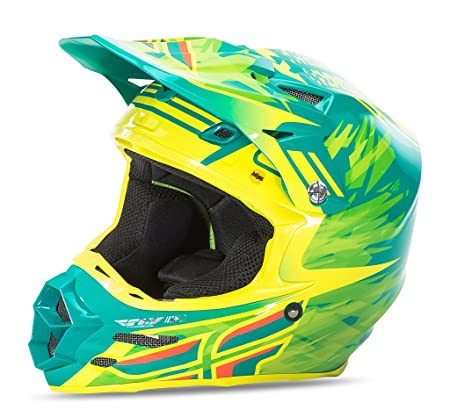 Fly Racing 2016 F2 carbono corto réplica casco de Motocross: Amazon.es: Deportes y aire libre