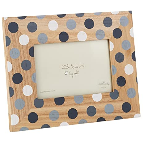 Amazon.com - Grey Polka Dot Picture Frame, 4x6 Picture Frames -