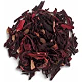 Frontier Co-op Organic Hibiscus Flowers, Cut & Sifted, 1 Pound Bulk Bag