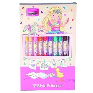 My Style Princess Eraser Set by Depesche