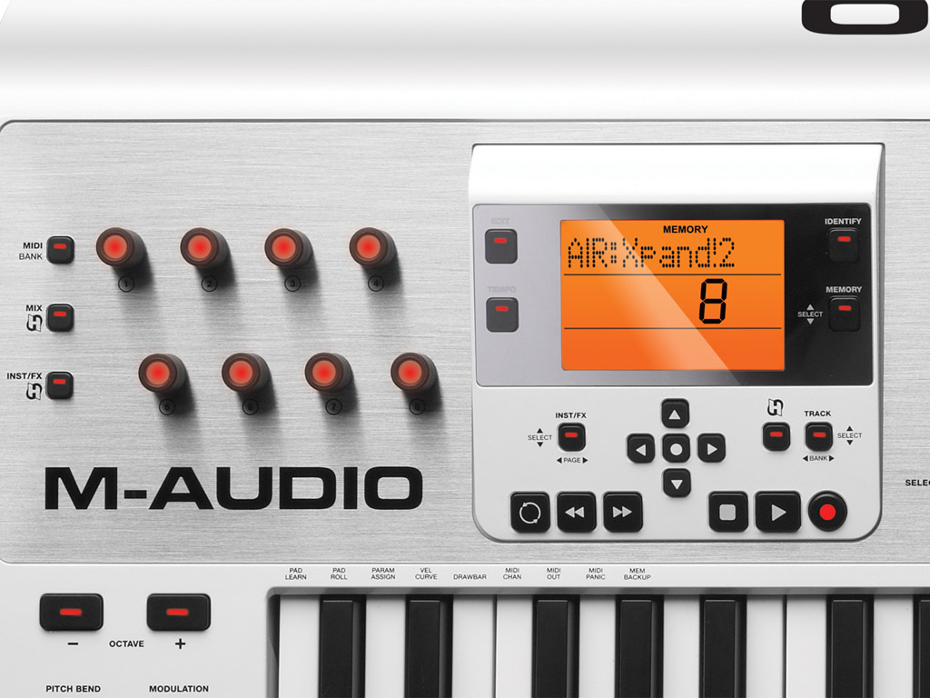 m audio axiom air 49 49 key usb midi keyboard pad controller with pro tools express and ignite. Black Bedroom Furniture Sets. Home Design Ideas