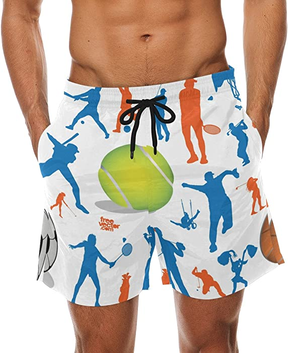 76f5a90e650ed DEYYA Men's Sport Glof Surf Swim Trunks Quick Dry Beach Pants Board Shorts  | Amazon.com