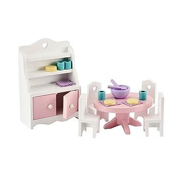 Early Learning Centre Kids Rosebud House Dining Room Furniture Set