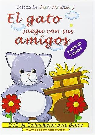 7a98495b4d8a Bebé Aventuras: El Gato Juega con sus Amigos [DVD]: Amazon.es: Bebé ...