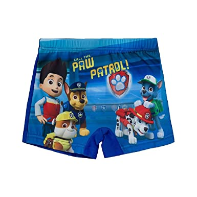 a9a2744bfa Kids Boys and Girls Licensed Merchandise Paw Patrol Swimming Shorts/Trunks  (5 Years): Amazon.co.uk: Clothing