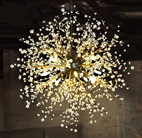 Gaorb Araña clásica 8 Luces Antiguas lámparas Colgantes casa ...