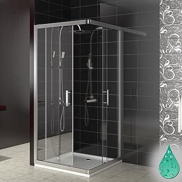 Sehr Gut Dusche Duschkabine Schiebetür Eckdusche Duschabtrennung  DR71