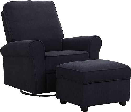 Amazon Brand Ravenna Home Classic Swivel Glider Accent Chair
