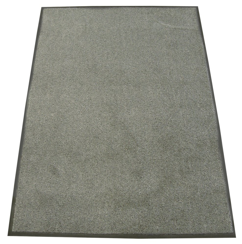 Rubber-Cal Soft Top Olefin Carpet Mat - 3ft x 6ft - Charcoal Commercial Door Mats