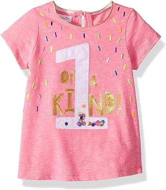 Amazon.com: mud pie bebé niñas primer cumpleaños playera de ...