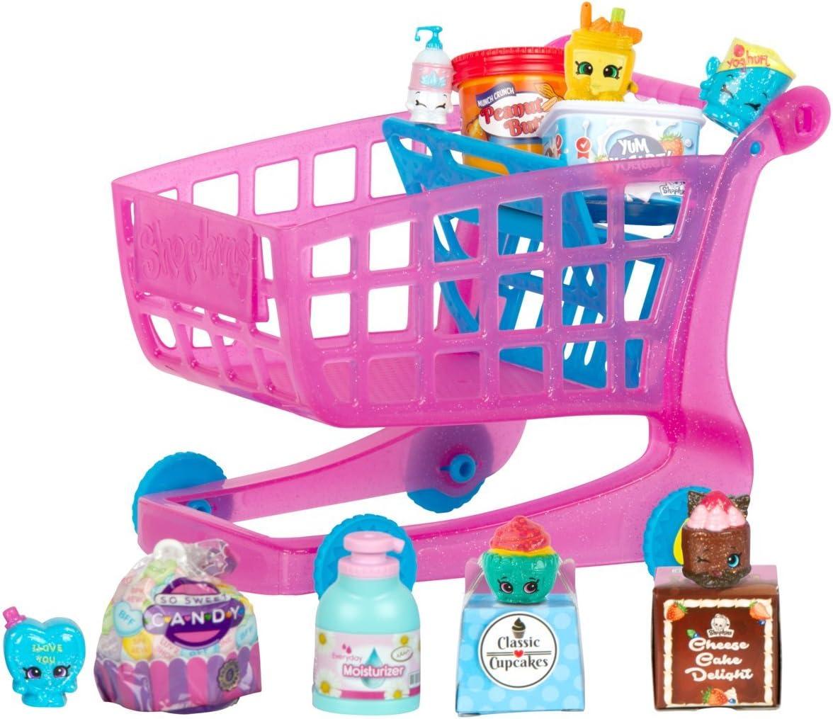 Rose Shopkins Small Mart Panier