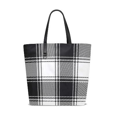 Amazon.com: Bolso bandolera para mujer, color negro, gris y ...