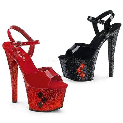 358e58fe6cc7 Pleaser Womens SKY-309HQ B-R BG-RG Sandals