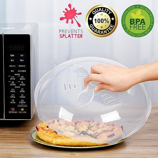 Tapa para plato de microondas con ventilación de vapor, material ...