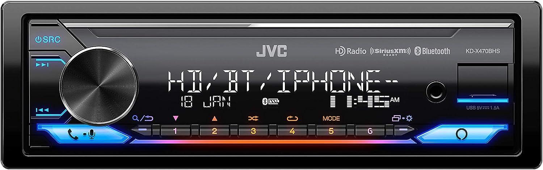 13-Band EQ USB SiriusXM Ready Compatible with  Alexa JVC KD-X470BHS Digital Media Receiver Bluetooth HD Radio
