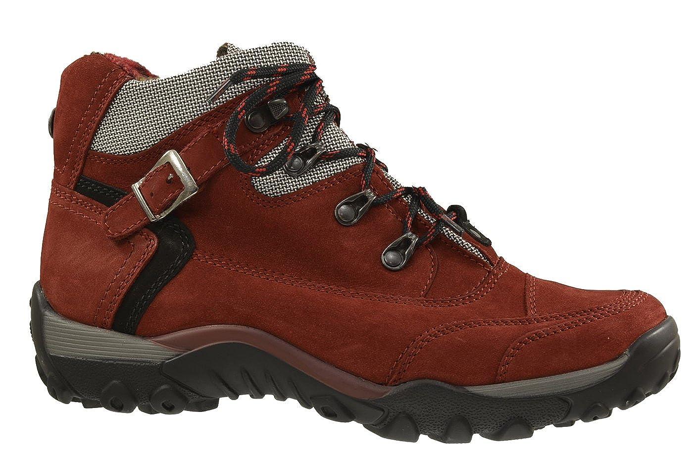 d0eeadc416c4 Waldläufer Damen Rot Stiefeletten Hilvi Denver Torrix 519972-452-014 Rot  Damen 23052Rot e8c8d3