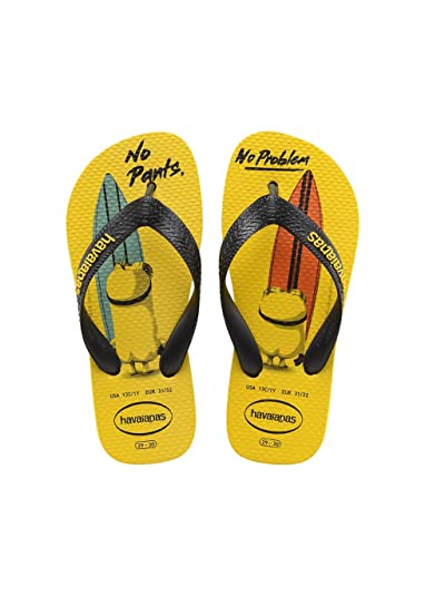 d985e20a95bf Havaianas Printed Flip Flops Kids Minions  Amazon.co.uk  Shoes   Bags