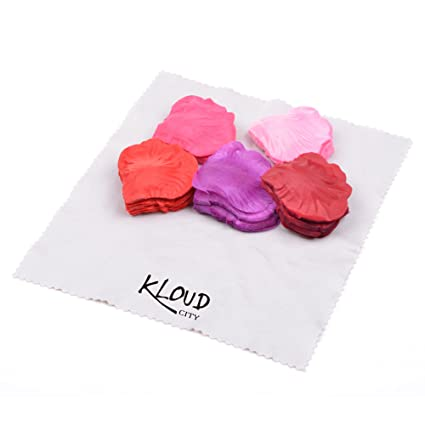 Amazon kloud city 5colors assorted 1000pcs fabric silk flower kloud city 5colors assorted 1000pcs fabric silk flower rose petals artificial petals for parting mightylinksfo