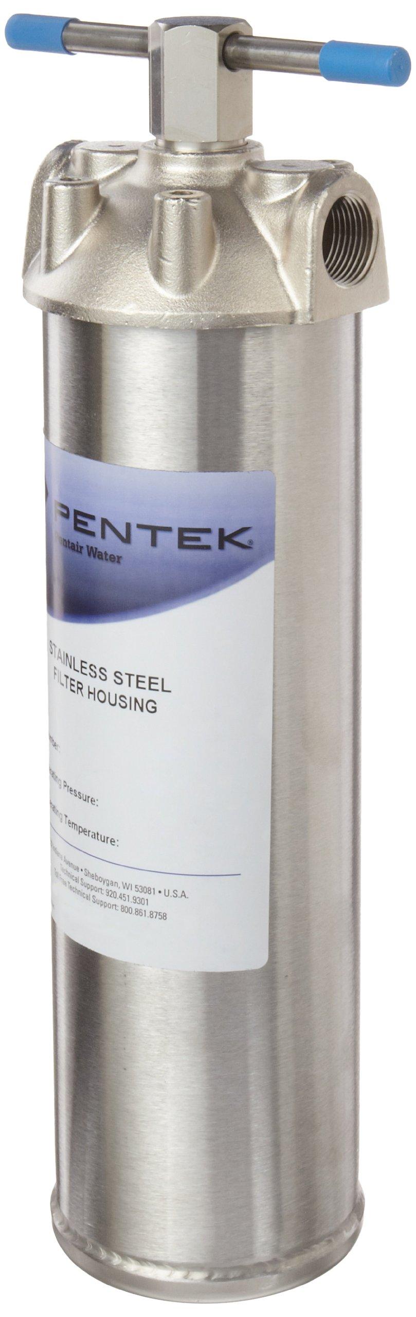 Pentek 156017-02 ST-1 3/4'' Stainless Steel Filter Housing